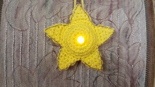 Lighted Star Ornament