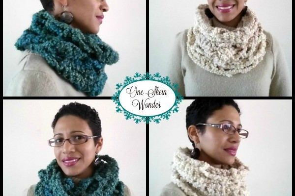 One Skein Cowl Free Crochet Pattern
