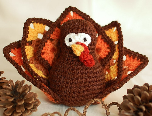 Thanksgiving Turkey Amigurumi
