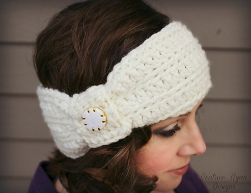 Wintertide Headband White