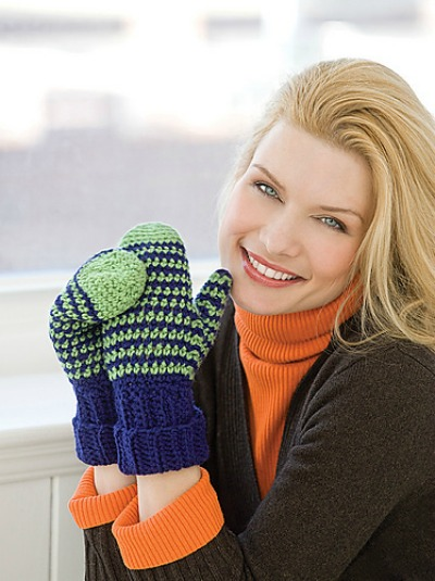 Crochet Mittens for All