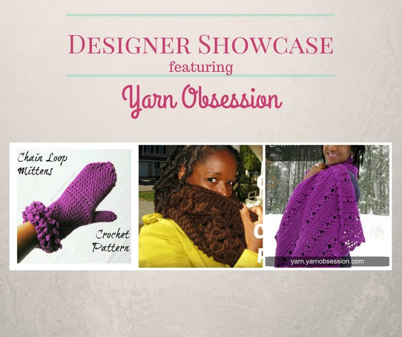 designer showcase featuring yarn obsession