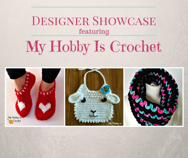 designer showcase featuring my hobby is crochet