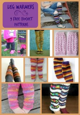 Leg Warmers Pattern Compilation
