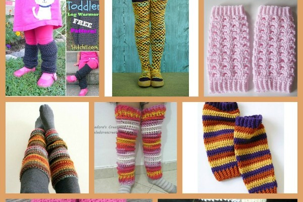 Leg Warmers Pattern Compilation