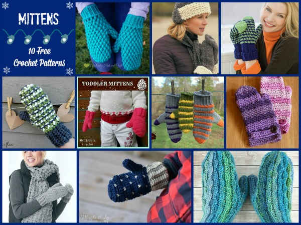 84ccb2e0f Mittens Patterns Compilation - Cre8tion Crochet