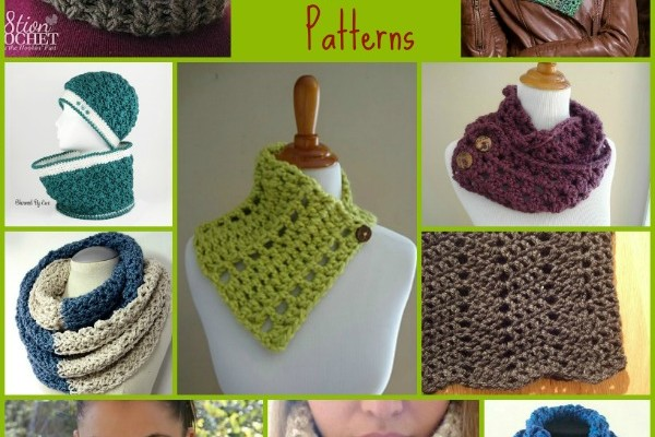 Neck Warmer Pattern Compilation