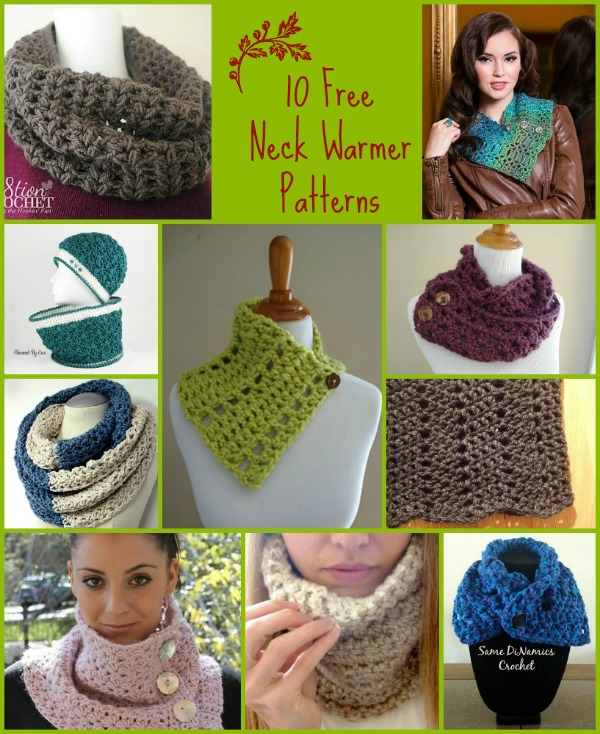 Neck Warmer Pattern Compilation - Cre8tion Crochet