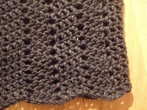 One Row Lace Cowl