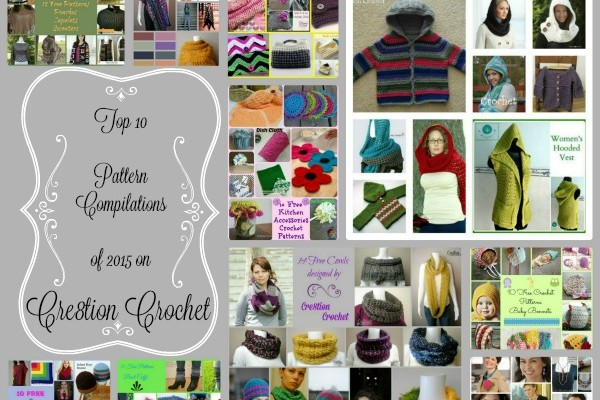 Top 10 Pattern Compilation on Cre8tion Crochet