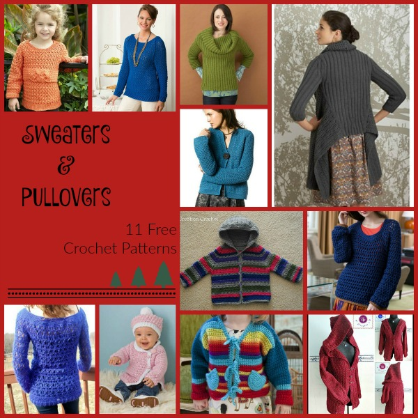 Sweaters Pullovers Collage