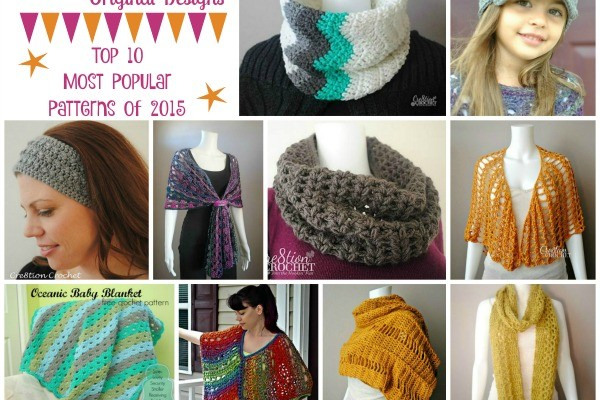 Top 10 Cre8tion Crochet Original Designs