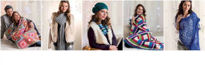 5 awesome designs available in Cold Weather Crochet by Marly Bird.