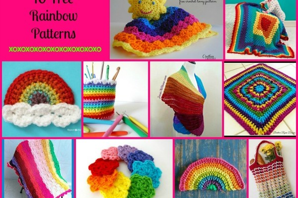 Rainbow Pattern Compilation