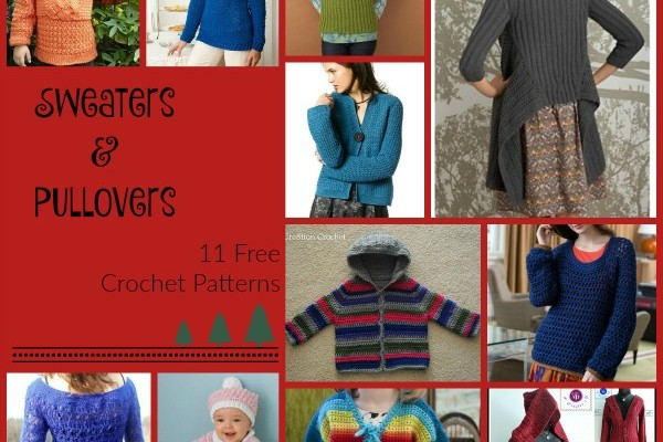 Sweaters and Pullovers Pattern Compilation