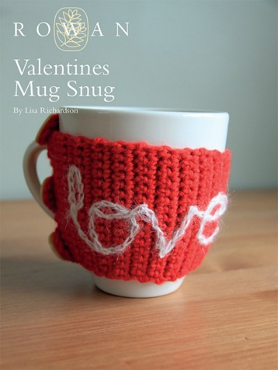 Valentine?s Mug Hug by Lisa Richardson for Knit Rowan