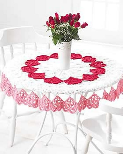 Valentine's Tablecloth
