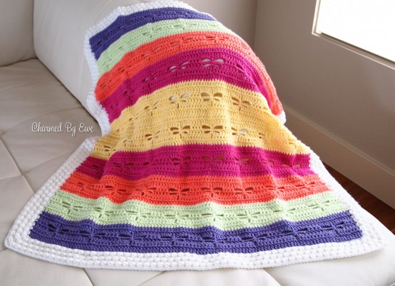 dragonfly blanket by charmed by ewe