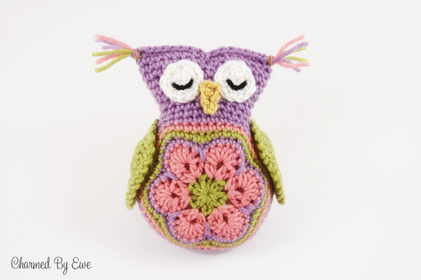owl stuffy by charmed by ewe
