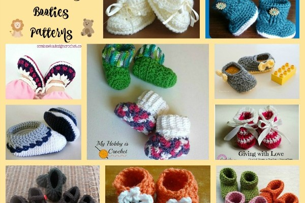 Baby Booties Pattern Compilation