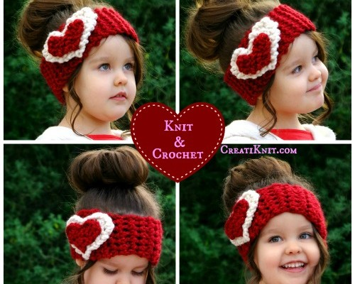 Free Valentine's Day Pattern in Crochet and Knit