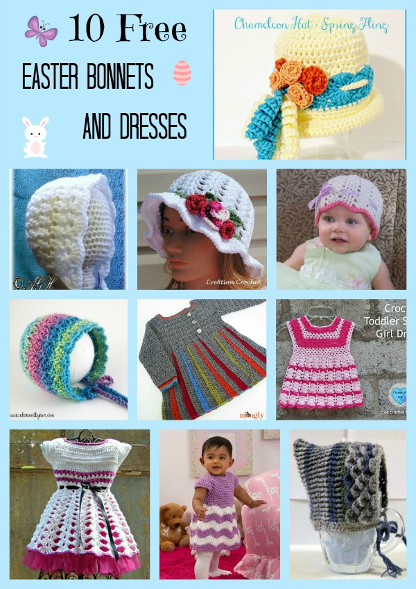 Easter Bonnets and Dresses