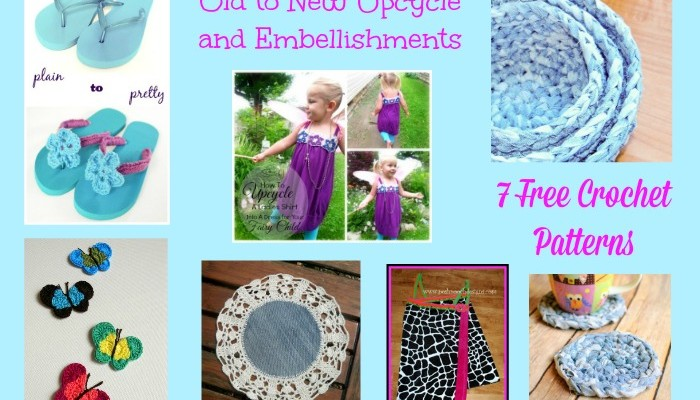 Old to New Upcycle and Embellishment Pattern Compilation