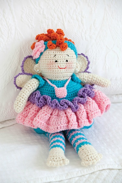Iris the Crochet Fairy Doll is Waiting to Share her Magic | 600x400
