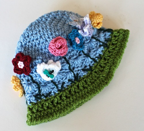 Chameleon Hat - May Flowers