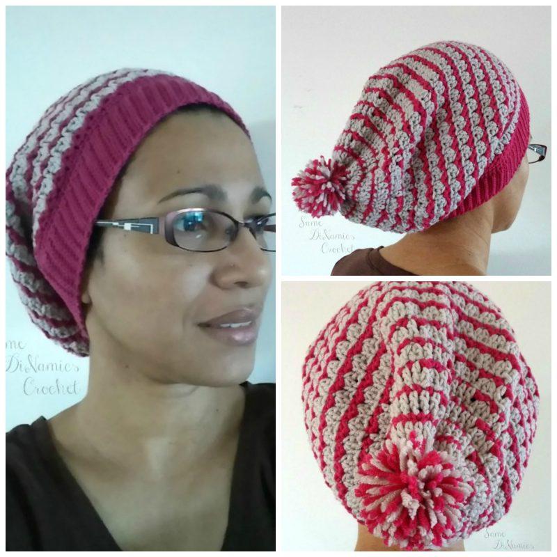 Bon Bon Kisses Slouchy Hat free crochet pattern - Cre8tion ...