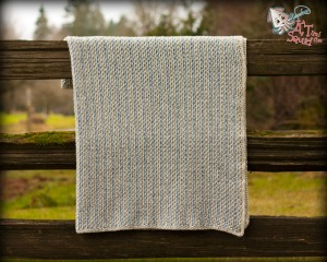 Bob's Easy Tweed Blanket by KT and the Squid