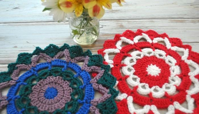 Free Mandala Pattern 3 with Deramores Studio Anti-Pilling Dk Yarn
