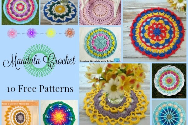 Mandala Crochet Pattern Compilation
