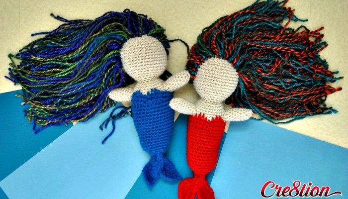 Free Mermaid Amigurumi Pattern