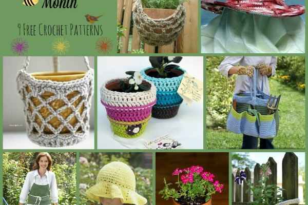 National Garden Month Pattern Compilation