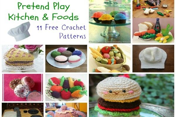 Pretend Play Kitchen and Foods