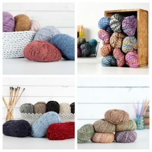 Tweed Yarns at Craftsy