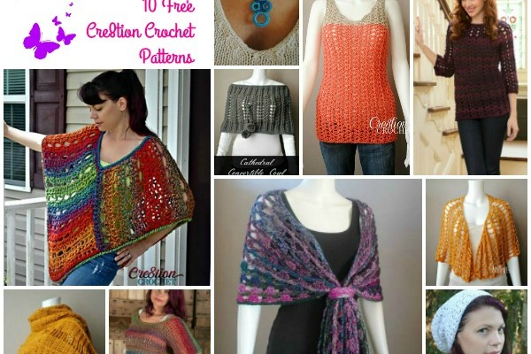 Cre8tion Crochet Pattern Compilation for Mother's Day