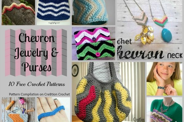 Chevron Jewelry and Purses Pattern Compilation