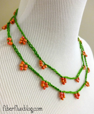 Coral Blossom Necklace