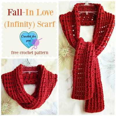Fall in Love Infinity Scarf