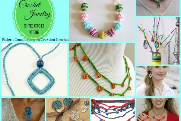 Crochet Jewelry Pattern Compilation