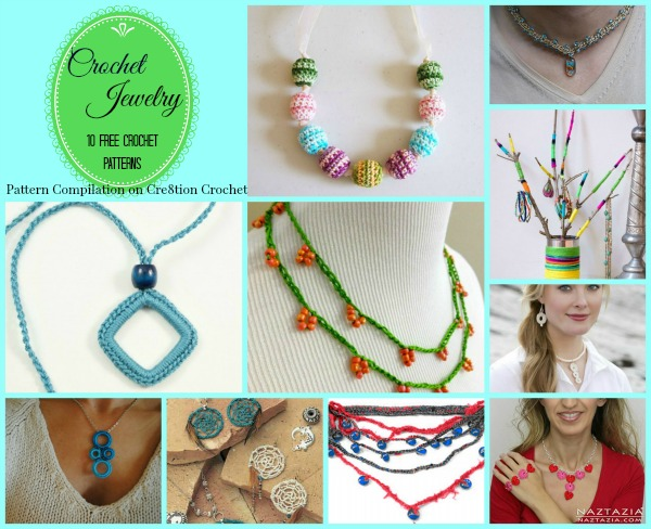 Crocheted jewelry is a great way to add some pizzazz to your wardrobe and it's a great conversation piece. You can crochet your very own necklace and make it a true one of a kind.
