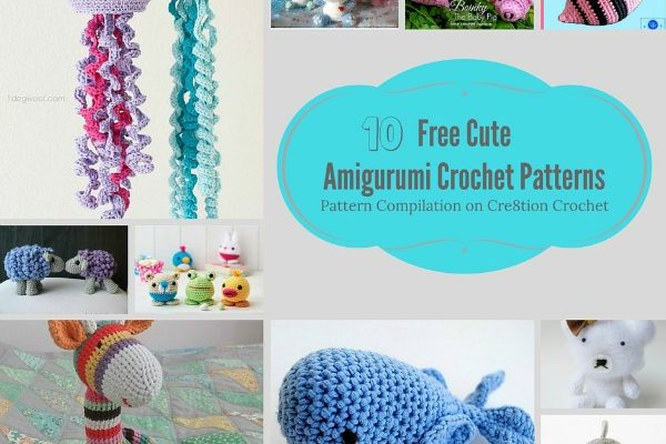 Cute Amigurumi Animals Pattern Compilation