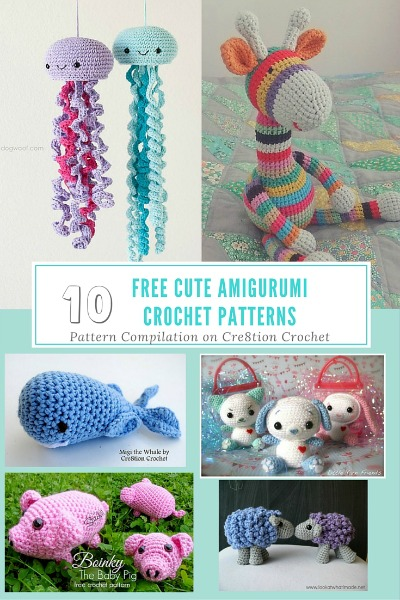 If you need a fun loving gift for any young child, these amigurumi animals will help you in that search. These animals are cute and will bring a smile to your face.
