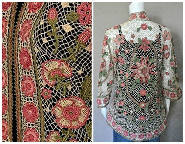 Grand Prize in the CGOA 2016 Design Competiton is this lovely jacket, named the Baroque Jacket by Kathryn White.
