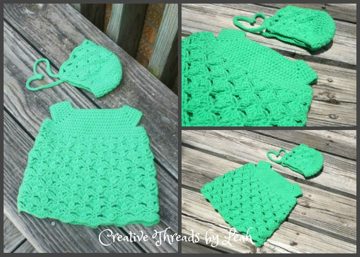 This sweet Lacy Clover Infant dress is perfect as a baby shower gift or homecoming gift. Your baby will look adorable with this little dress on.