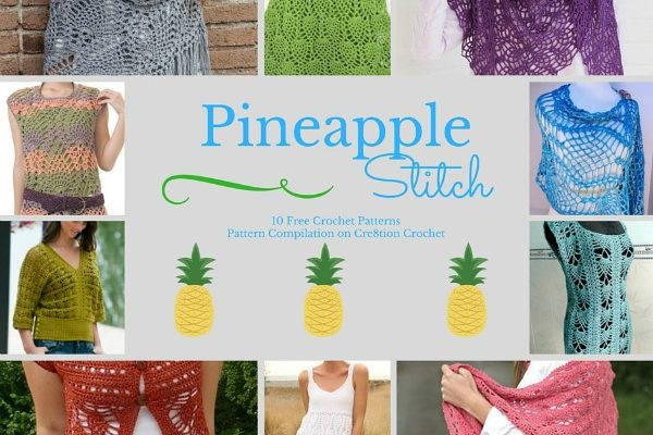 Pineapple Stitch Pattern Compilation
