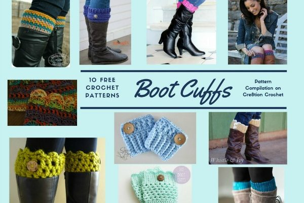 Beautiful Boot Cuffs Pattern Compilation