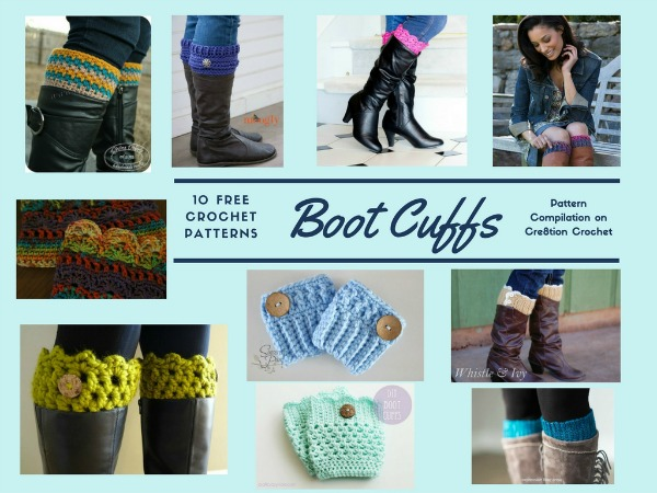 "These Boot Cuffs will help you ""step out"" in style this coming Fall season."